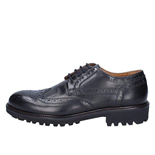 K852 & SON Chaussures de Ville à Lacets pour Homme Bleu FCGtFowP
