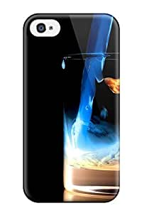 New Fill It Tpu Skin Case Compatible With Iphone 4/4s