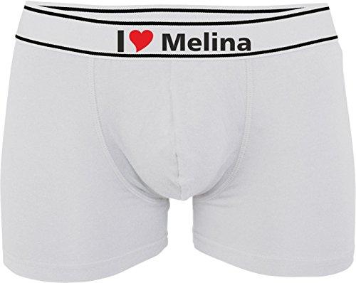 Melina I con o Kariban Love Stampato personalizzabili Weiß Man Boxer TqYOnwFxRa
