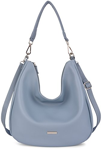 Fanspack Women's Hobo Handbags PU Leather Top Handle Tote Bag Large Capacity Crossbody Shoulder Bag Purse Large Hobo Tote Handbag