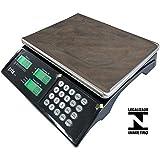 Balança Eletrônica Computadora com Bateria 15kg/5g - PRIX3F/P300100 - Toledo - 0TD 904