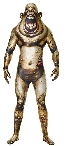 Adult Boil Monster Morphsuit (UHC Men's Boil Monster Morphsuit Horror Theme Spandex Skinsuit Halloween Costume, M)