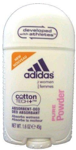 Adidas Cotton Tech Aluminum Free Women Deodorant- Pure Powder 1.6 oz.