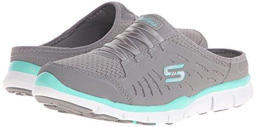 Mint Limits on Slip Sport Skechers No Grey Mule Sneaker 8xnqFRf