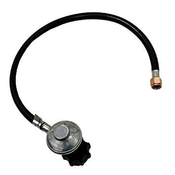 HILAND Pressure Regulator, 250 PSI, W/ Hose