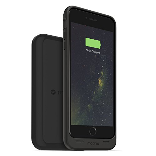 Mophie Charge Force Wireless Charge Pad - Qi Wireless Charging for Apple iPhone X, iPhone 8, iPhone 8 Plus, and Qi Enabled Smartphones and Juice Packs - Black