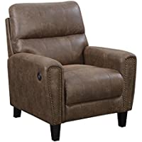 Artum Hill UP9-226 Cavaliere Recliner, Walnut
