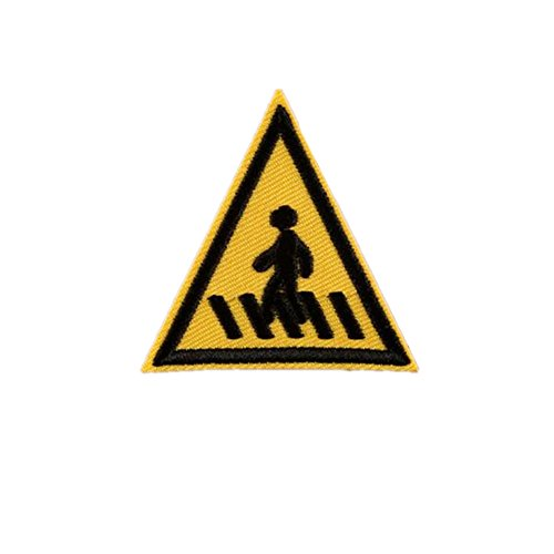ximkee10-packsidewalk-road-sign-sew-iron-on-embroidered-patches-appliques