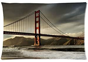 "San Francisco Golden Gate Bridge Custom Rectangle Pillow Cases 20""x30 by supermalls"