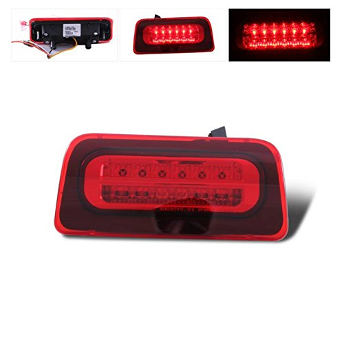 SPPC Red LED 3rd Brake Lights For Chevy S-10 : GMC (Extended Cab Gmc 3rd Brake)