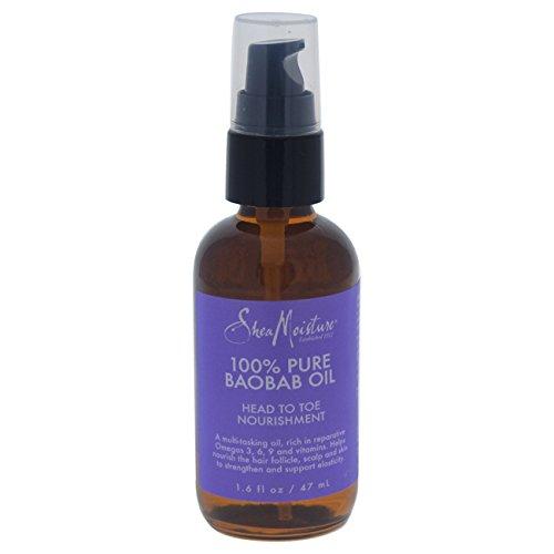 Price comparison product image Shea Moisture 100% Pure Baobab Oil Head To Toe for Unisex, 1.6 Ounce