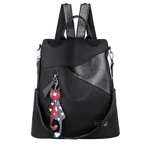 Backpack Purse for Women Sunyastor Waterproof Nylon Anti-Theft Fashion Lightweight Travel Shoulder Backpacks Bags