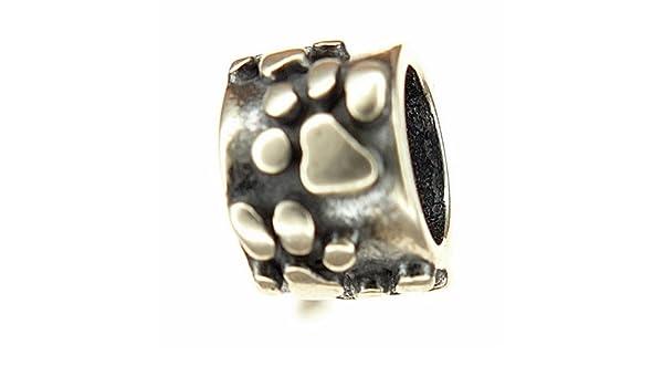EverReena Heart /& Bow Charms Fit Original Silver Beads Bracelets
