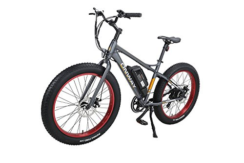 Onway 26'' 500W Powers Plus Electric Mountain Bike Pedal assist Electric Bicycle with Removable Lithium-Ion Battery for All Terrain Riding by Onway