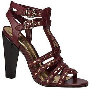Carlos Santana Ginseng Gladiator Sandals (7.5M, BILBERRY ()