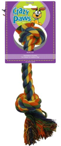 Sergeant's Rope Chew Multi-Color Medium for Dogs, My Pet Supplies