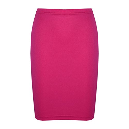 Price comparison product image Gilrs Skirt Kids Plain Color School Fashion Dance Pencil Skirts Age 7-13 Years