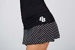 BB Falda Rayas Negra Y Blanca (XL)