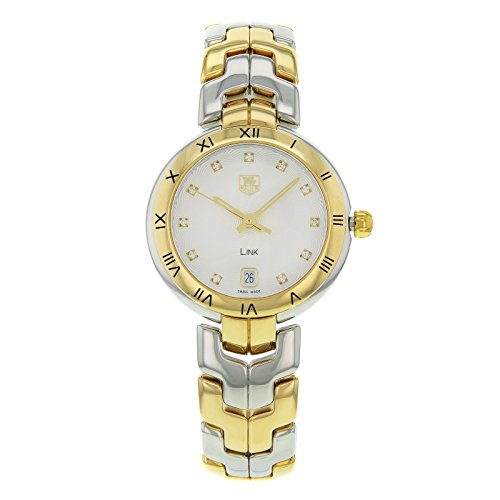 Authentic New Tag Heuer Link - Tag Heuer Link quartz womens Watch WAT1350.BB0957 (Certified Pre-owned)