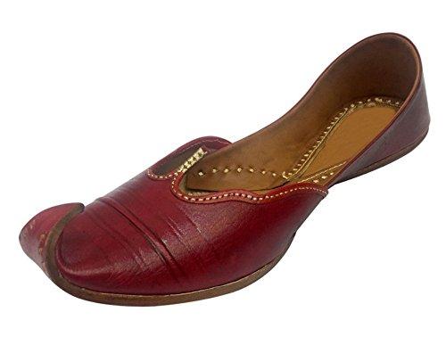 Step n Style Beaded Sandals Khussa Shoes Punjabi Jutti Wedding Bridal Ethnic Shoes DD927