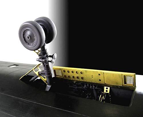 Metallic Details SR-71 Blackbird. Landing Gears (Testors/Italeri) 1/48 MDR4824 4