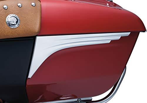 Kuryakyn 5692 Chrome Motorcycle Accent, 2 Pack