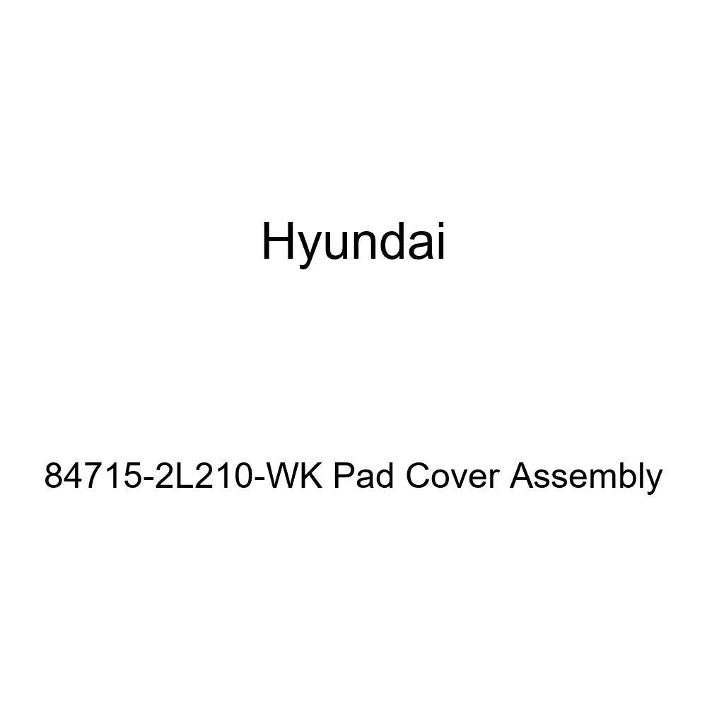 Genuine Hyundai 84715-2L210-WK Pad Cover Assembly