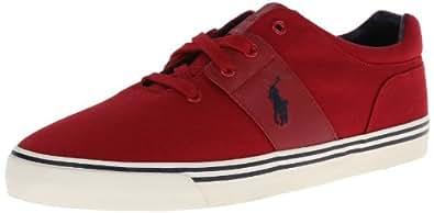 Polo Ralph Lauren Men's Hamilton Fashion Sneaker,Devon Red,9.5 D US