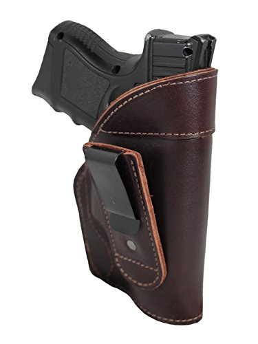 New Barsony Burgundy Leather Tuckable IWB Holster for WAL...