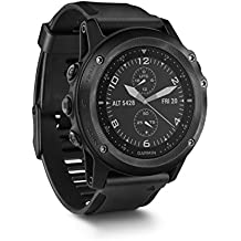 Garmin Tactix Bravo, Black with Silicone Band (Certified Refurbished)