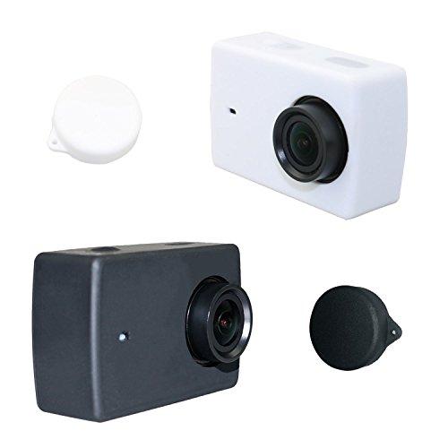 ASOCEA Silicone Protective Housing Case Lens Cap Cover for