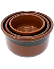 Pottery 19033 Cookware Set, Brown