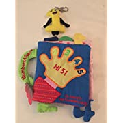 Baby's First Birthday Celebration and Learning Kit: Hi 5! Baby's 1st Numbers and Shapes Book Plus Plush Number 1 Clip Keychain