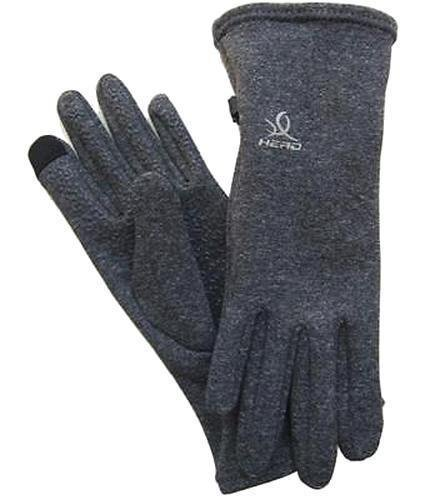 HEAD Sensatec Touchscreen Ladies Digital Running Gloves (Small, Heather (Gray)) by HEAD (Image #1)