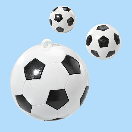 Mini balón de fútbol 10 mm, transparentes a 4 pcs: Amazon.es: Hogar