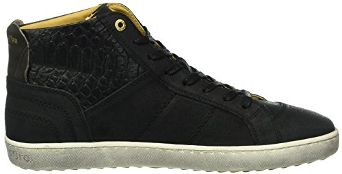 Pantofola d'Oro Canaverse Uomo Mid, Men's Low-Top Sneakers Black (25y)