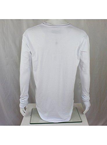SIK SILK Shirt L/s Tee White, spring & summer 15)