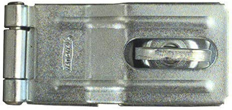Zinc Plated Swivel Safety Hasp 3-1//4