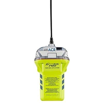 ACR GlobalFix Pro 406 EPIRB Category II Rescue Beacon Manual Release Bracket Built-in GPS by ACR Electronics