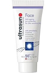 英亚:ultrasun 50 + SPF 脸部 100毫升,现价:£35.93
