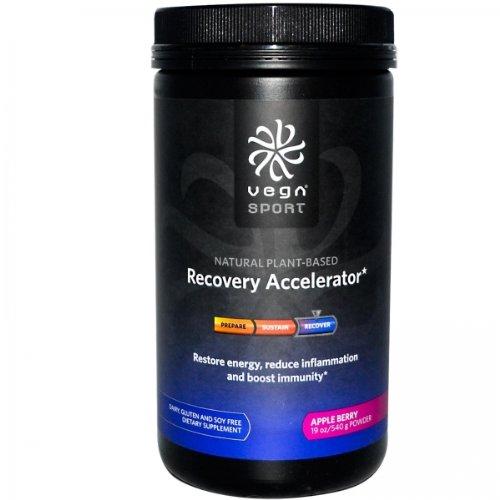 Vega Sport Recovery Accelerator, Apple Berry, 19 onces