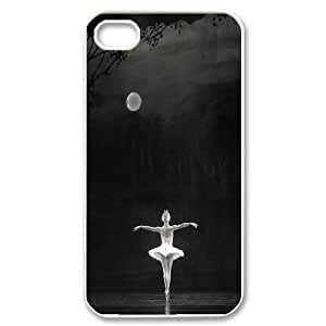 CHENGUOHONG Phone CaseSwan and Ballet For Iphone 4 4S case cover -PATTERN-15