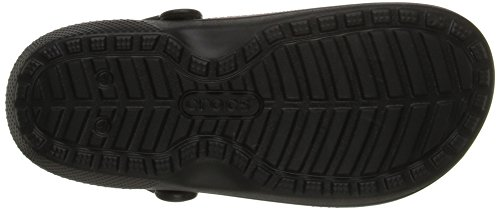 Graphic Classic Clog Crocs Sabot Black MainApps Espresso Lined wUCtFF5q