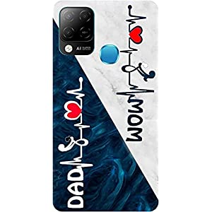 Amagav Soft Silicone Printed Mobile Back Cover for Infinix Hot 10S -Design141