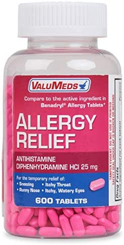 ValuMeds Medicine Antihistamine Diphenhydramine Children