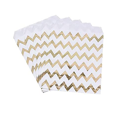 SMHILY 25 Unids 13X18 CM Foil Gold Silver Wedding Candy Bar ...