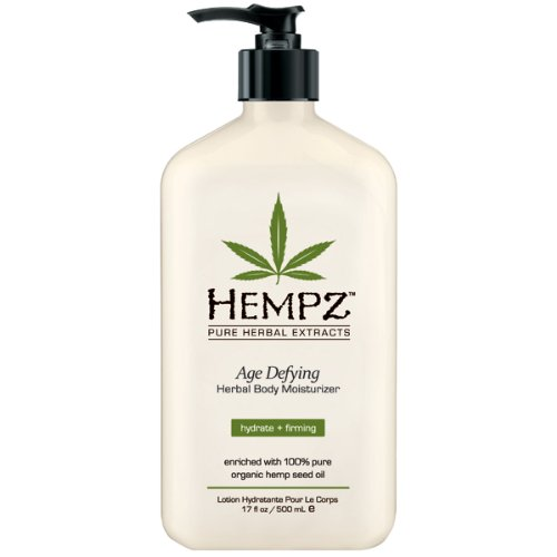 Hempz Herbal Moisturizer, Возраст Defying, комплектация может отличаться, 17- жидкую унцию бутылки