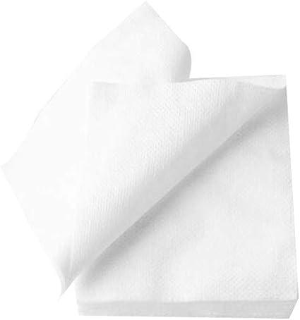 240pcs almohadillas de algodón cosmético facial Desmaquillante de ojos de ratón cuadrado de algodón Puff para la piel sensible Blanca: Amazon.es: Belleza
