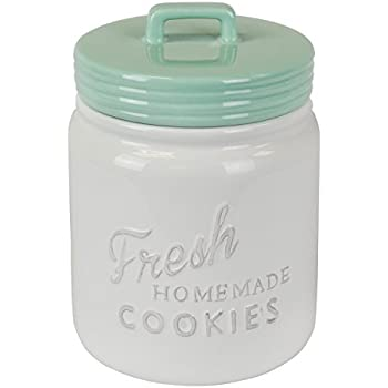 Amazon Com Waving Lucky Cat Cookie Jar Ceramic With Air