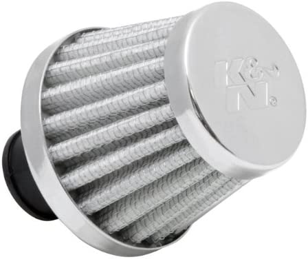K/&N Engineering K/&N Rubber Base Crankcase Vent Air Filter// Breather Red